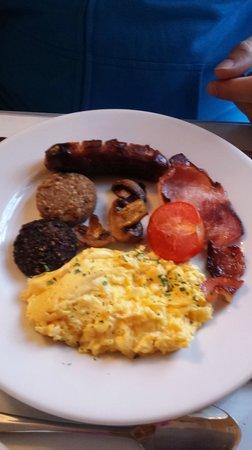 Kilronan House: Irsih Breakfast