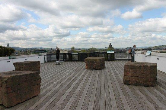 Museo Nacional de Escocia: Обзорная площадка на крыше