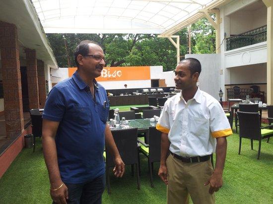 Citrus Chambers Mahabaleshwar: One of the staff members Mr. Aamir Khan