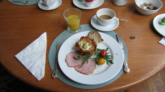 Fairholme Manor : flavourful breakfast