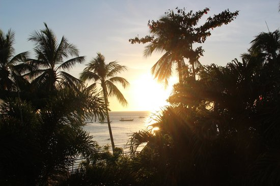 Jony's Beach Resort: Sunset