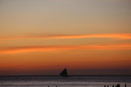 Jony's Beach Resort : Beautiful Sunset
