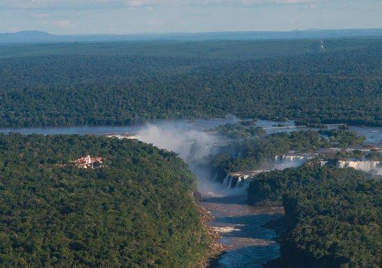 Belmond Hotel das Cataratas : Hotel and Iguazu Falls