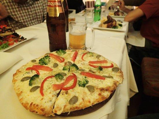 Balcones de Puno: veg pizza
