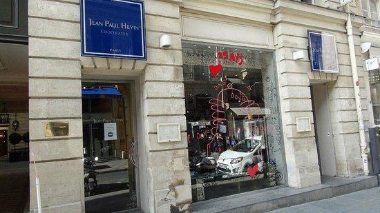 Jean-Paul Hévin Chocolatier : La façade