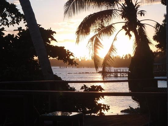 Sinalei Reef Resort & Spa: The sunsets were amazing