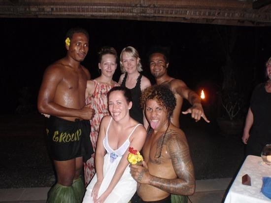 Sinalei Reef Resort & Spa: Fia Fia night with the fire dancers