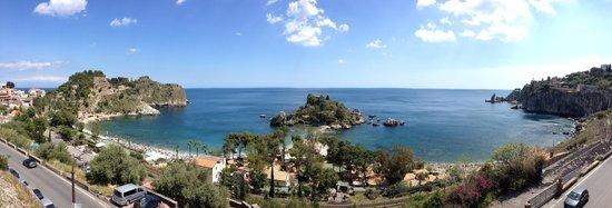 Hotel Isola Bella: Vue panoramique de la chambre