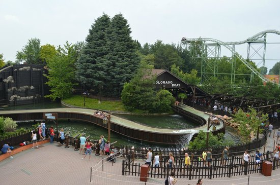 Gardaland Resort: Лодки