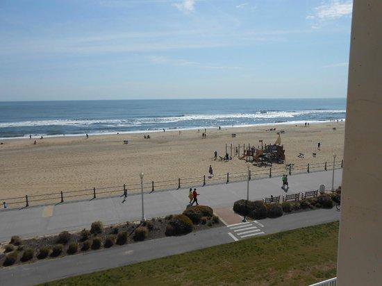 Hampton Inn Virginia Beach-Oceanfront South : Atlantic Ocean