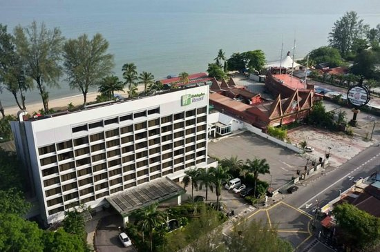 Holiday Inn Resort Penang : A view from the room.