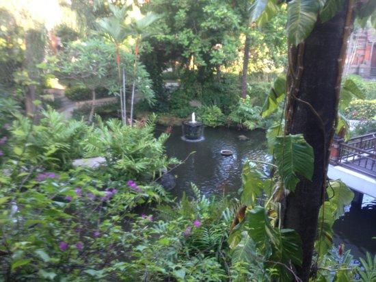 Bali Garden Beach Resort: view from room