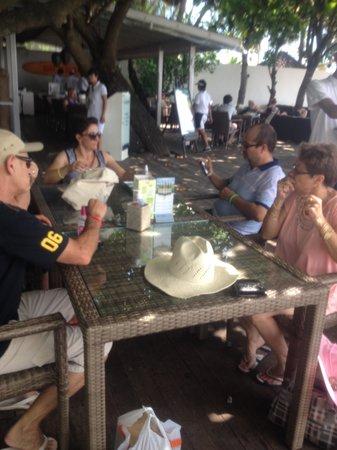 Bali Garden Beach Resort: the boardwalk