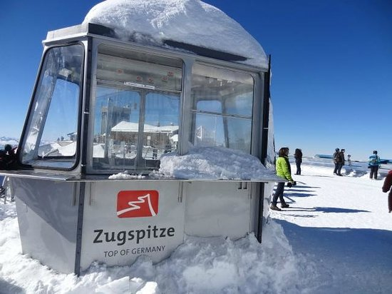 Zugspitze: At the Top