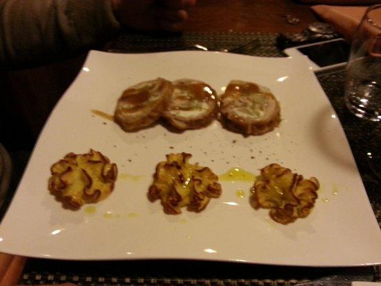 Osteria Locanda Il Canto del Maggio: Coniglio ripieno, uno dei piatti di punta