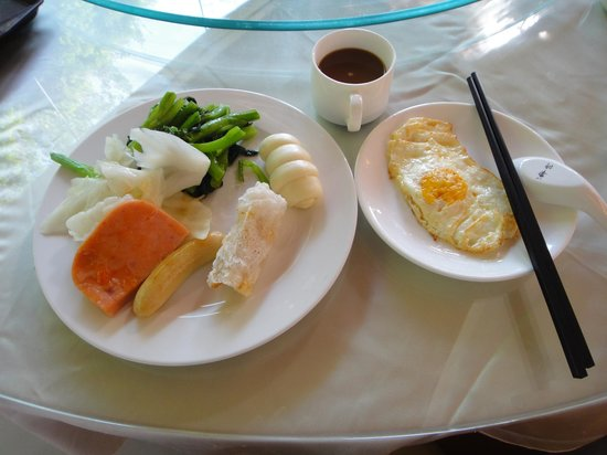 Yijing Garden Resort & Spa Hotel: 朝食