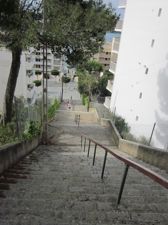 Club Santa Ponsa : stairs to the beach