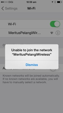 Meritus Pelangi Beach Resort & Spa, Langkawi: iPhone Wifi