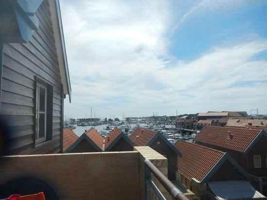 Hillarys Harbour Resort: View from our balcony