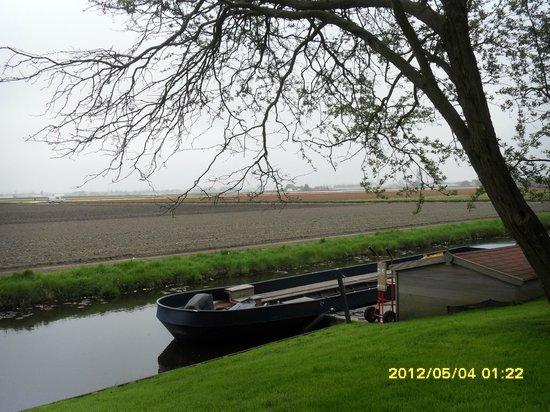 Delfzijl, Holland: delft river
