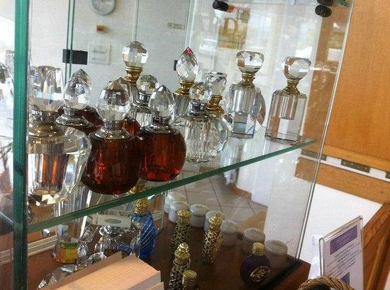 Parfumerie Galimard : подарочные баночки для парфюма