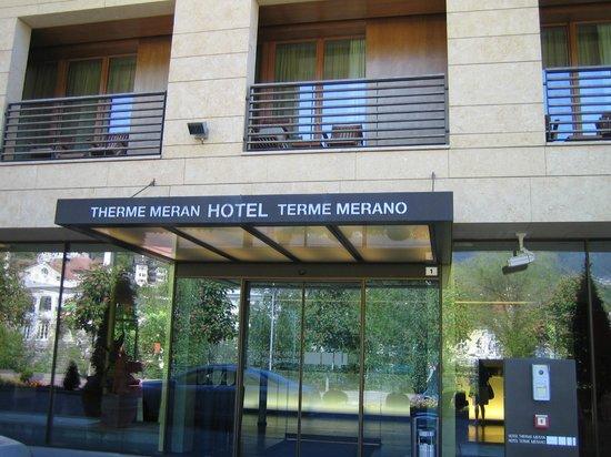 Hotel Therme Meran: ingresso