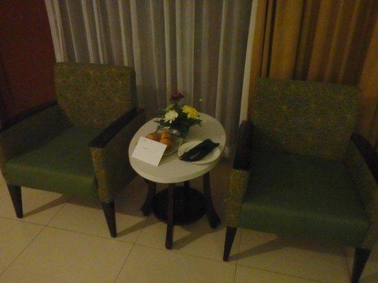 Bali Rani Hotel: sitting area