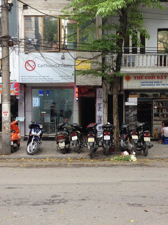 Giang Cafe : Storefront