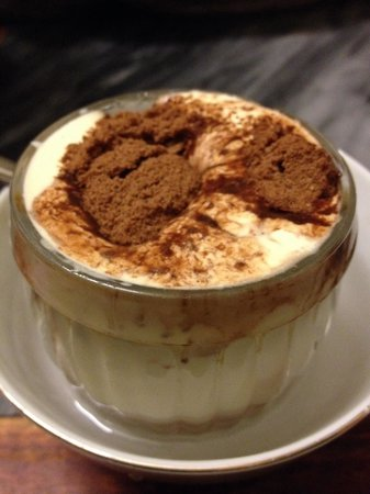 Giang Cafe : Egg hot chocolate