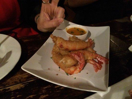 Cera 23: La tempura de langostinos.