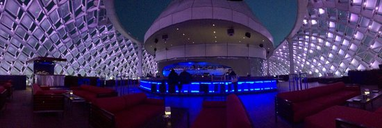 Yas Viceroy Abu Dhabi: The Skylite rooftop bar