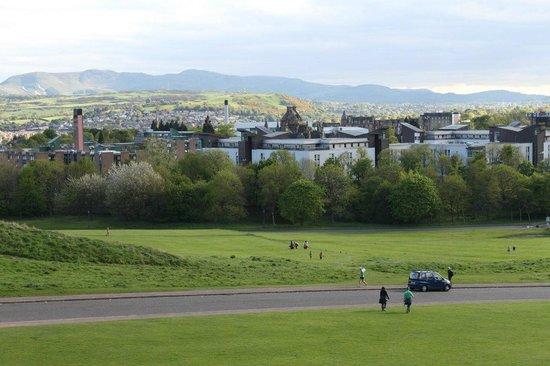Holyrood Park: Вид с горы