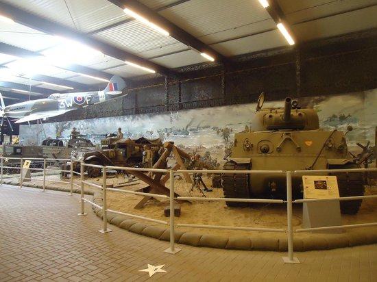 Overloon War Museum: tank room