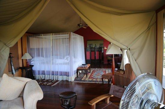 Olare Mara Kempinski Masai Mara: our room