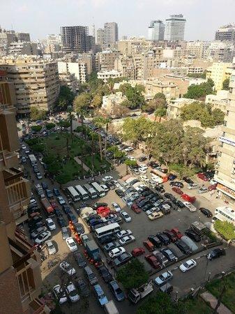 Safir Hotel Cairo : Level 12 view