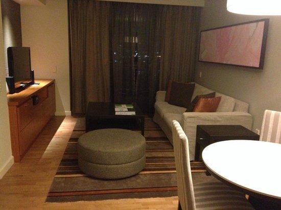 Chatrium Residence Sathon Bangkok: Living area