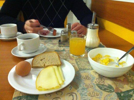 Hotel City Centre: Завтрак