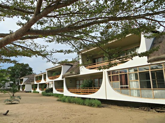 Hotel Club du Lac Tanganyika : The block my room was in