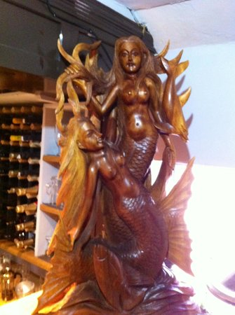 The Mermaid Balti House: Lovely pice mermaid