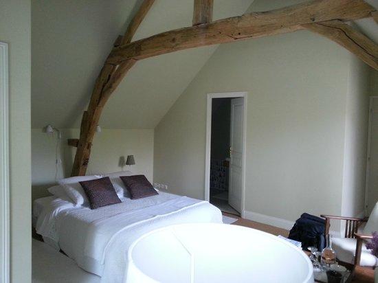 Le Moulin du Mesnil: chambre