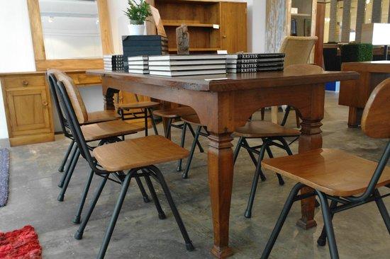 vintage teak furniture. Journey East: 1950s Vintage Teak Wood Table Furniture 0