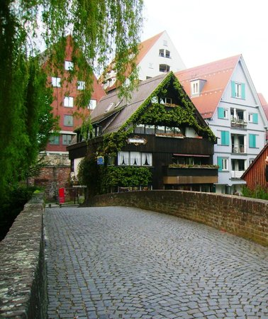 "Ульм, Германия: Fisherviertel Ulm - near restaurant ""Zur Vorelle"""