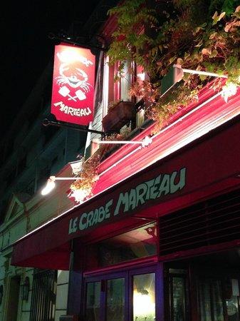 Le Crabe Marteau: Entrata del locale