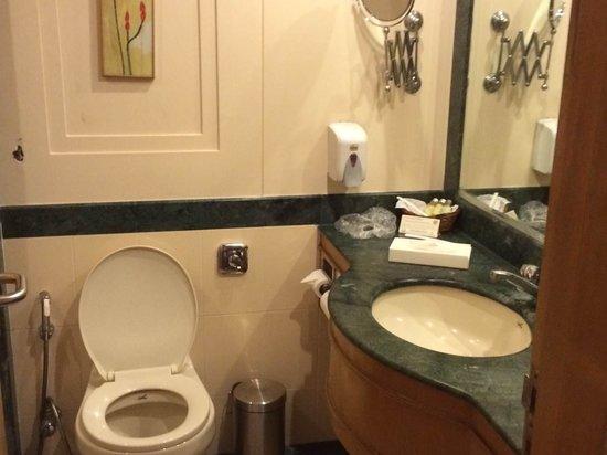 Savoy Suites: Bathroom - no tub