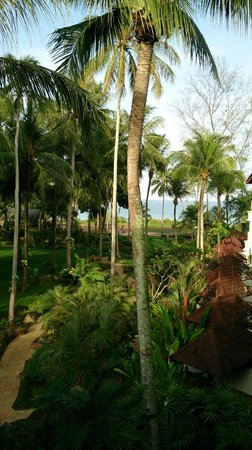 JW Marriott Phuket Resort & Spa : Filtered beach view