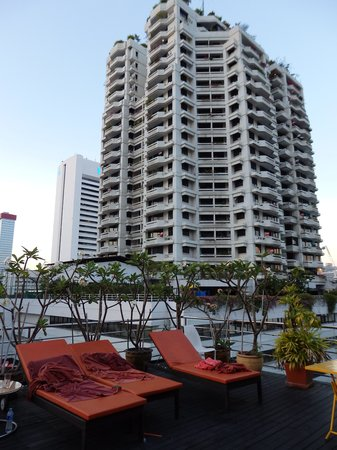 The Heritage Bangkok: vista dalla piscina