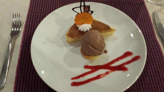 Angkor Miracle Resort & Spa : American Cheesecake