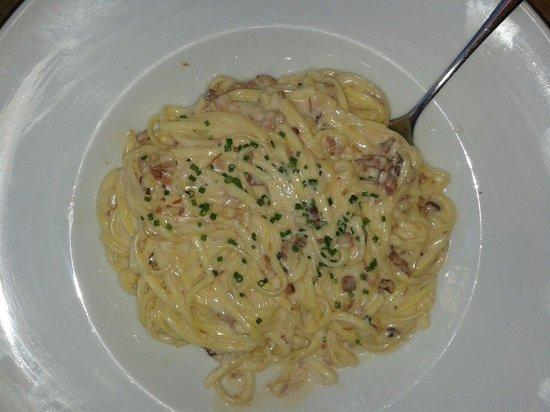 Restaurant Brown33 : Pasta alla carbonara