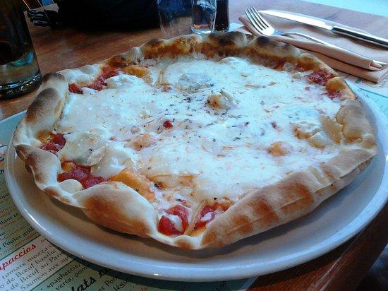 Restaurant Pizzeria Le Villaggio : Pizza 4 Fromages