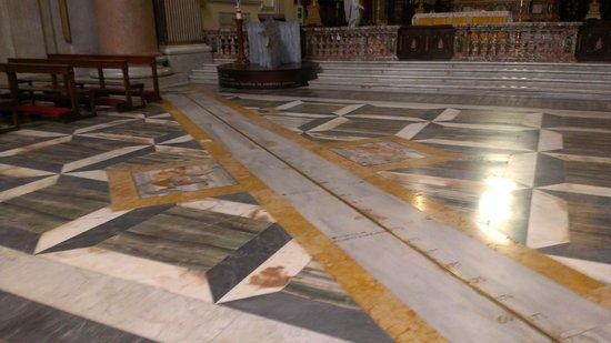 Basilica di Santa Maria degli Angeli e dei Martiri: Meridiana